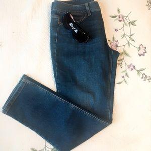 J. Jill slim ankle jeans